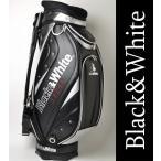 ブラック&ホワイト(Black&White) ブラック アンド ホワイト ゴルフ キャディバッグ
