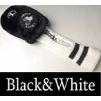 2016春夏新作 ブラック&ホワイト Black&White ユーティリティヘッドカバー
