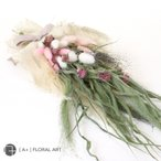 ドライフラワー スワッグ RagDoll(ラグドール) / 母の日 プレゼント 花 プリザーブドフラワー 花束 リース ギフト