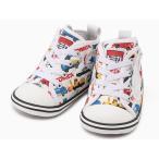 CONVERSE BABY ALL STAR N TOMICA PT Z 7CL776 ホワイト コンバース ベビー オールスターN トミカPT Zベビーシューズ ベビー靴