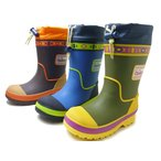 オシュコシュ ラバーブーツ OSHKOSH OSK WC156R 男の子 冬用 レインブーツ スノーブーツ 子供用長靴 子供靴 キッズ用長靴 防水・防寒