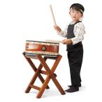 SUZUKI 平太鼓セット 1尺2寸(36cm) HS-H120 バチ・X型立奏台付き (鈴木楽器 幼児向け・子供向け・学校用 郷のひびきシリーズ 和太鼓 スズキ)