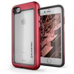 アルミ合金製スリムケース アトミックスリム レッド iPhone 8(10月中旬)