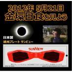激安メール便可能!太陽観測 遮光プレート サンビュー