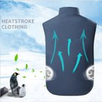 空調服ワークマン 空調ベスト PSE認証あり エアコン服 ファン付き  大風量 クールベスト クールウェア 熱中症対策 作業着 おすすめ