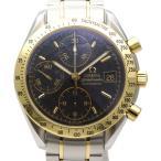 OMEGA オメガ スピードマスター デイト 3313.50 メンズ腕時計 ステンレススチール/K18YG  AT ブラック 【中古B/標準】 20180809MF 東発 20145988