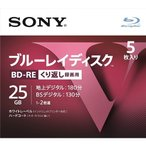 SONY 5BNE1VLPS2 [BD-RE 2倍速 5枚組]