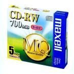 maxell CDRW80MQ.S1P5S [CD-RWメディア(700MB・5枚 / データ用4倍速対応)]