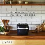 炊飯器 5.5合 タイガー 圧力IH ご泡火炊き JPI-A100-KO オフブラック 少量旨火炊き 0.5合 炊きたて 遠赤 高火力 甘い おいしい