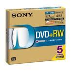 SONY 5DPW47HPS [データ用DVD+RW(4.7GB / 4倍速 / 5枚) プリンタブル]