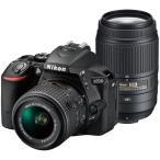 Nikon D5500 ダブルズームキット ブラック [デジタル一眼レフカメラ (2416万画素)]