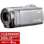 JVC GZ-E109-S シルバー フルハイビジョンメモリービデオカメラ(8GB) ビクターエンタテインメント