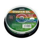 HI DISC HDD+R85HP10 [DVD+R DL 8倍速 10枚]