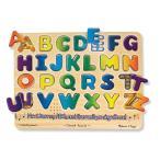 ショッピングメリッサ 知育玩具  Melissa&Doug アルファベット サウンドパズル  おもちゃ  音の出るパズル ABC パズル 英語 メリッサ&ダグ