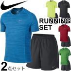 NIKE ナイキ メンズ 半袖Tシャツ&ショートパンツ ランニング ジョギング トレーニング ジム 紳士 男性用 2点セット 上下組/718349-644243