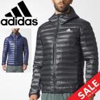 ダウンジャケット メンズ アウター アディダス adidas フーディ ジャケット VARILITE 男性用 アウター 保温性 防寒 BQ7782/BQ7785 ウェア/DKQ81