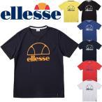 半袖 Tシャツ プラクティスシャツ テニスウェア メンズ レディス/エレッセ ellesse TENNIS テニスシャツ ロゴT スポーツウェア ユニセックス /ETS16311