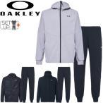 トレーニングウェア ジャージ 上下セット メンズ オークリー OAKLEY Enhance モビリティフリース ジャケット パンツ/FOA400152-FOA400821