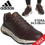 ウォーキングシューズ メンズ スニーカー/アディダス adidas ETERA TOWNWALKER U/ローカット スポーツシューズ 男性 普段履き 靴 運動 ブラウン 茶 くつ/FY3513