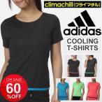 レディース 半袖Tシャツ /アディダス adidas クライマチル/クーリングウェア 冷感 ランニング ウェア マラソン/GYT79