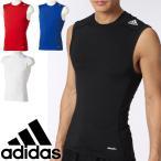 アディダス メンズ テックフィット ノースリーブ コンプレッション adidas 袖なし アンダーウェア TECHFIT  BASE トレーニング ジム 紳士・男性用 /LOZ72