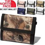 財布 ウォレット 3つ折り ノースフェイス THE NORTH FACE BCドットワレット/コンパクト 折りたたみ財布 アウトドア デイリー 貴重品 男女兼用 鞄 小物 /NM82080-