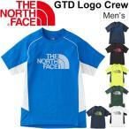ノースフェイス メンズ ランニングシャツ THE NORTH FACE 半袖シャツ GDT ロゴ クルーネック 男性 ジョギング トレーニング 正規品 スポーツ ウェア /NT11797