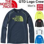 ノースフェイス メンズ ランニングシャツ THE NORTH FACE 長袖シャツ GDT ロゴ クルーネック 男性 ジョギング トレーニング スポーツ ウェア 正規品 /NT11798