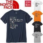 THE NORTH FACE メンズ ランニングシャツ ザノースフェイス 半袖 Tシャツ TNFメッセージ Tee 男性用 トレーニング ジム アウトドア カジュアル 吸水速乾/NT31660