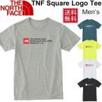 Tシャツ 半袖 メンズ/ノースフェイス THE NORTH FACE TNFスクエアロゴティー/男性 アウトドア ランニング スポーツ カジュアル ウェア カットソー/NT31893