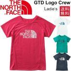 ノースフェイス レディース ランニングシャツ THE NORTH FACE 半袖シャツ GTD ロゴ クルーネック 女性 ジョギング トレーニング ジム スポーツ/NTW11783