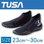 ダイビング用ブーツ TUSA/ツサ ダイビング用ショートブーツ DB0201 マリンシューズ[30404008]