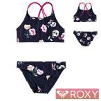 ROXY ロキシー 子供 水着 女の子 セパレート 子供水着 2点セット キッズ ジュニア LETS GET SALTY CROP TOP SET GRGX203033