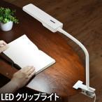ショッピングクリップ LED デスクライト クリップ 目に優しい ホワイト 送料無料特典