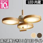 スライマック LEDウッドプーリーライト PE-308 電球色 温湿時計モルト特典
