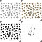 ネイルシール ラメ スター 星形 選べる10種類
