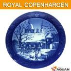 ROYAL COPENHAGEN ロイヤルコペンハーゲン イヤープレート クリスマスプレート マナーハウスでのクリスマス 1995年版 送料込み 未使用