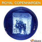ROYAL COPENHAGEN ロイヤルコペンハーゲン イヤープレート 2000年版 Trimming the Tree 未使用