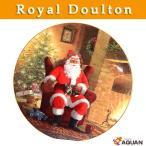 Royal doulton ロイヤルドルトン クリスマスプレート イヤープレート 1998年 「A WELL EARNED BREAK」 グリン・ウイリアムス
