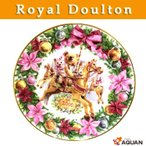 Royal doulton ロイヤルドルトン クリスマスプレート イヤープレート 2000年 「CLASSICS CHRISTMAS CAROUSEL」