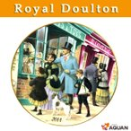 Royal doulton ロイヤルドルトン 2001年 イヤープレート クリスマスプレート ヴィクトリアンメモリーコレクション THE PERFECT G..