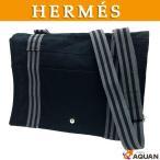 大特価セール! HERMES エルメス フールトゥバサス ショルダーバッグ メンズ メッセンジャーバッグ 男女兼用 ブラック 黒 送料込み