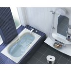 TOTO 浴槽 ネオマーブバス エプロンなし ワンプッシュ排水栓 1400サイズ PNS1440RJ PNS1440LJ