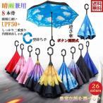 傘 日傘 完全遮光 晴雨兼用 逆さ傘 紫外線 日焼け 日よけ レディース メンズ スポーツ UVカット 長傘 濡れない 無地