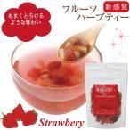 フルーツハーブティー/ 果実の想い ストロベリー(50g) ハーブティー 紅茶 フルーツティー フルーツハーブティー お茶 ドライフルーツ 健康茶