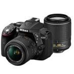 Nikon D5300 ダブルズームキット2 [ブラック]JAN末番4536 デジタル一眼レフカメラ