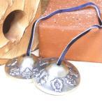 チベット密教 ティンシャ SSサイズ 八吉祥 6.2cm (チベタンシンバル) ヨガ ヒーリング クリックポスト送料無料