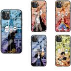 ワンピース Luffy ナミ ルフィ ゾロ サンジ iPhone 12 7 8 6 plus iPhoneX XS MAX XR iPhone11 Pro SE 12 13 mini 携帯カバー 強化ガラス スマホケース