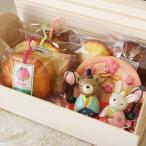 ひなまつり焼き菓子ギフト「うさぎとくまのおひなさま」(和歌山産フルーツのパウンドケーキ・マドレーヌ・アーモンドカップケーキ合計5個入り)
