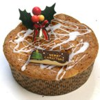 聖ジンジャップル(リンゴと生姜のベイクドバターケーキのクリスマスケーキ)(15cmホール)